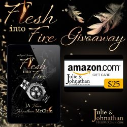 Flesh Into Fire Release Day Giveaway!
