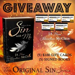 $500 Sin With Me Release Day Giveaway