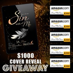 Our First Cover Reveal and $1000 Giveaway!