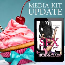 MEDIA KIT UPDATE and THE SEXPERT IS ONE WEEK AWAY!